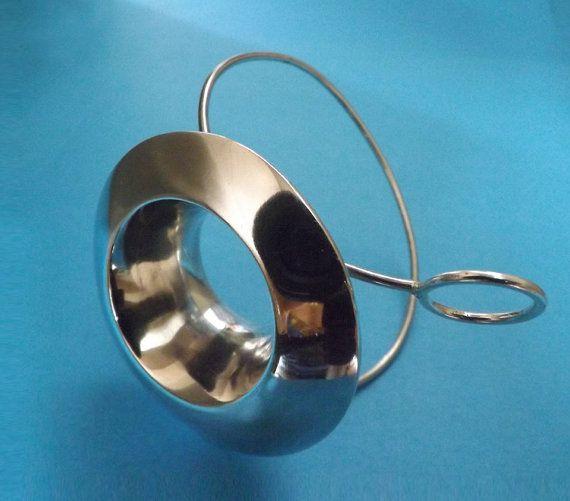 Contemporary Adjustable Bracelet Space Age by BonTonContemporary
