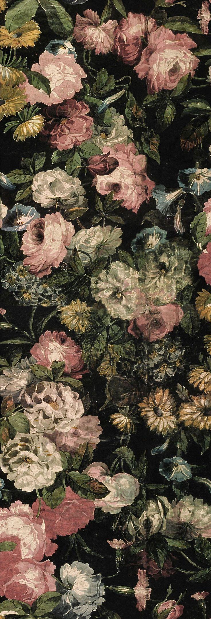 House Of Hackney Midnight Garden Wallpaper main image