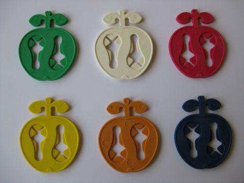 60 RUCO Apfel Sockenklammern - Socken paarig waschen   eBay