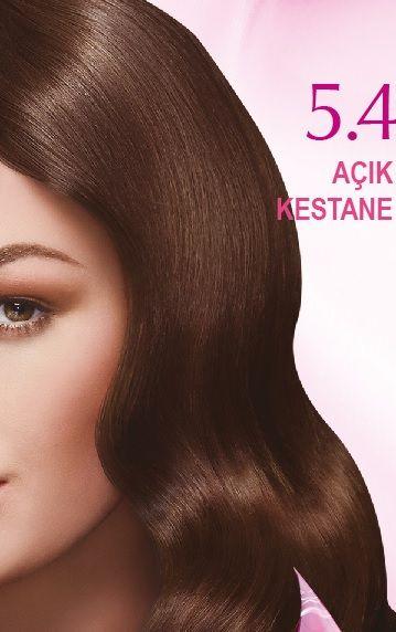 Nevacolor 2017 Saç Renk Kartelası - Nevacolor açık kestane saç rengi