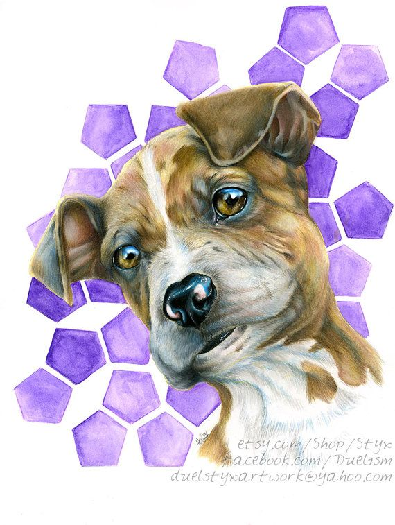 Pet Portraits that promote dog rescue and charity.  A gift that keeps on giving.