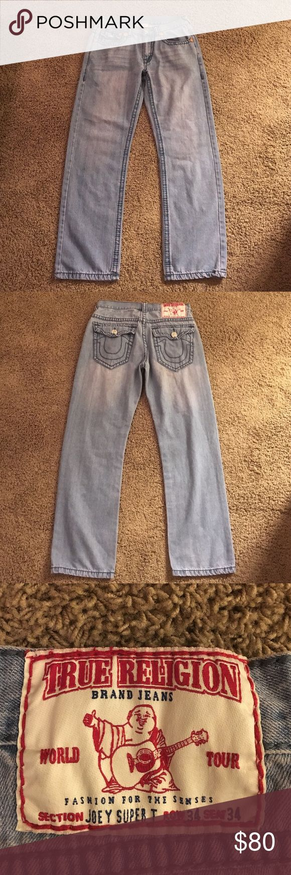 True Religion jeans Great pair of True Religion jeans True Religion Jeans Relaxed