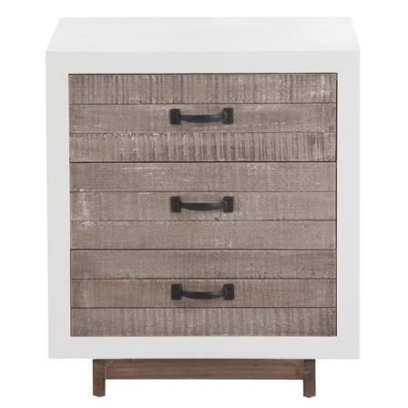 Rimulus 3 Drawer Bedside Table