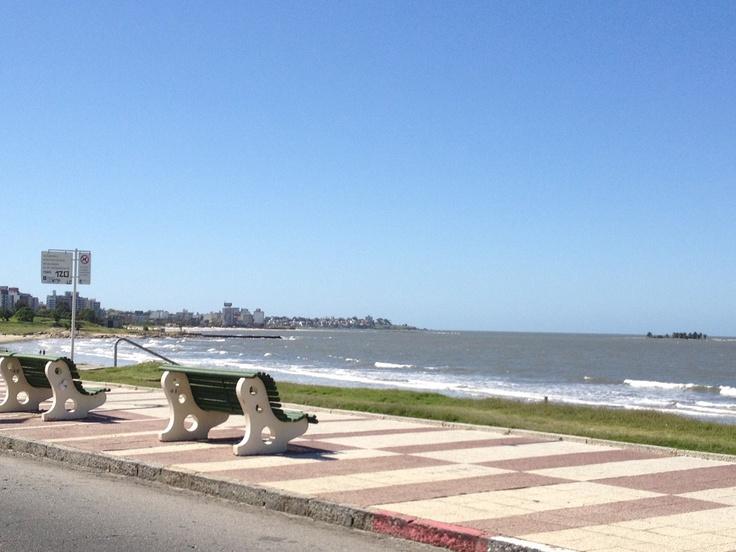 Montevideo, rambla, tiempos