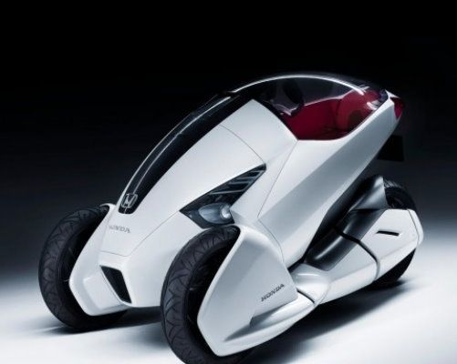 Honda 3R-C – futuristic motorcycle