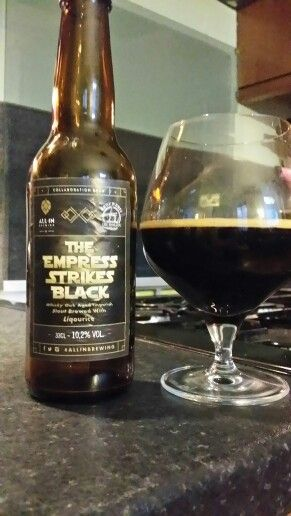 Check out the review for The Empress Strikes Black Whisky Oak Aged Imperial Stout here www.youtube.com/realaleguide