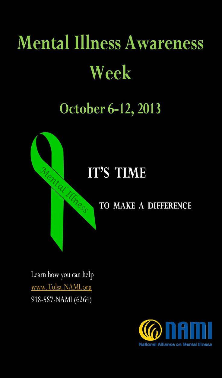 NAMI Tulsa Mental Illness Awareness Week Poster
