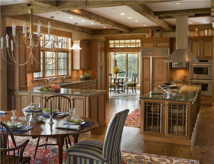 Rustic Country Kitchen Design best 25+ country closed kitchens ideas that you will like on
