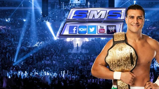 Join us for WWE Social Media SmackDown this Friday at 8/7 CT on Syfy!  Enter contest at http://www.wwe.com/shows/smackdown/2013-03-01/social-media-smackdown-contest