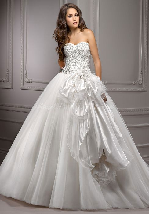 20 best Ball Gown images on Pinterest   Short wedding gowns, Wedding ...