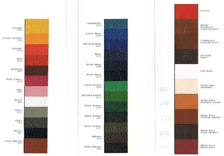 Bookbinding Leather UK - Thesis Binding Leather, Book Binding Leather