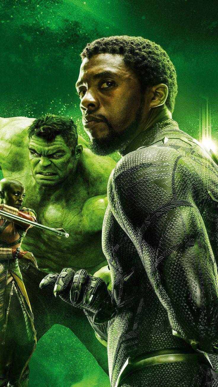 Hulk & Black Panther In Avengers Endgame Free 4K Ultra HD