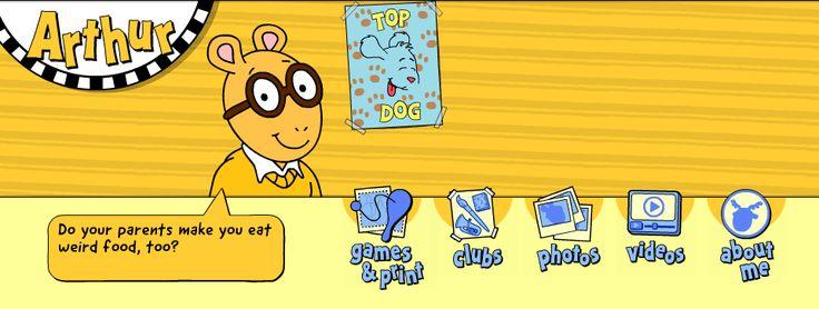 Arthur . Friends . Arthur's Games & Printables Page | PBS Kids