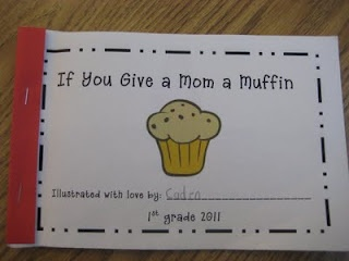 Mother's Day books based on If you give a Mouse a Cookie!