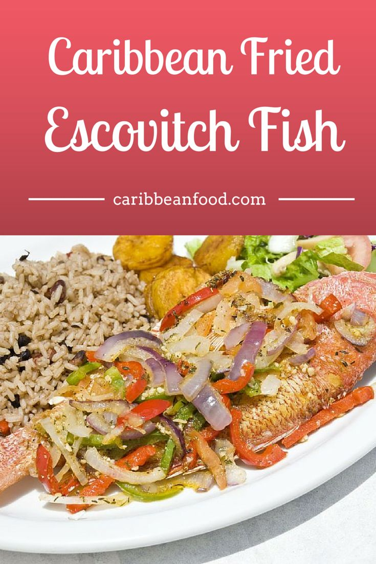 Caribbean Fried Escovitch Fish recipe from Caribbeanfood.com