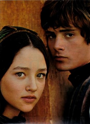 Oh yes....Romeo & Juliet.  Gorgeous film.