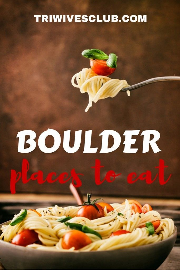 Best restaurants in Boulder, Colorado. The top list of where to eat in Boulder.