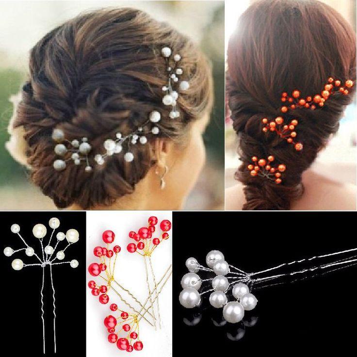 Braut haarschmuck mit perlen  20 besten Haarschmuck Bilder auf Pinterest | Hochzeiten, Hochzeit ...
