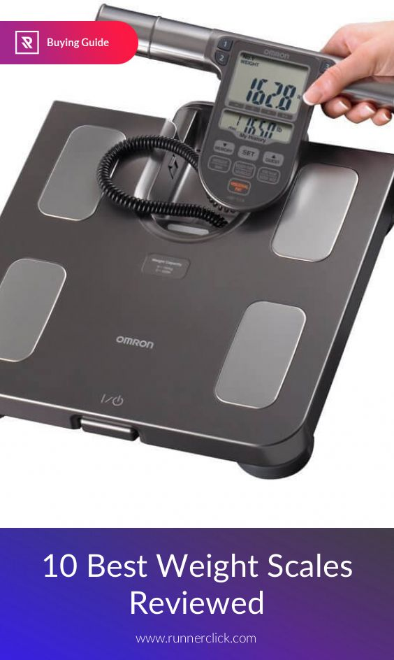 10 Best Weight Scales Reviewed #Runnerclick