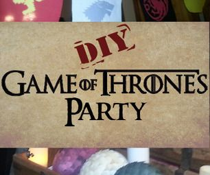 some good ideas, inspiration... Game of Thrones Party Ideas