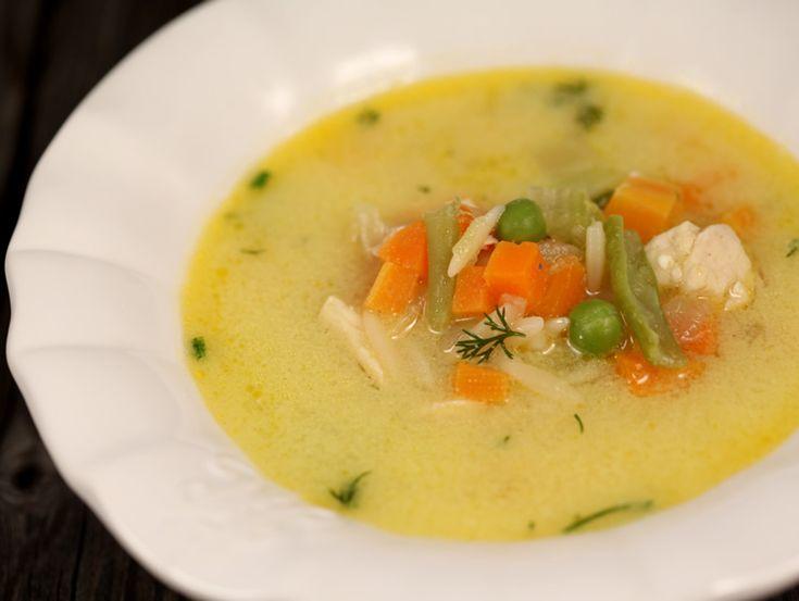 Ciorba+de+pui+cu+legume
