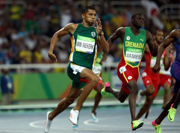If Wayde Van Niekerk Winning The 400M Didn't Make You Cry You Might Not Have A Soul -   .