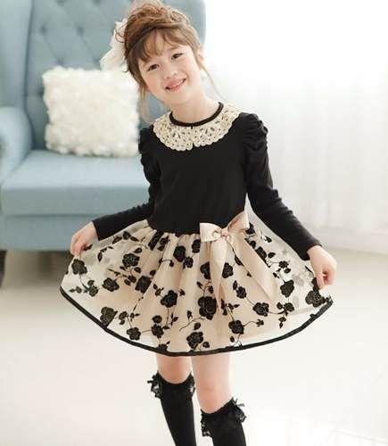 Resultado de imagem para vestidos infantis inverno