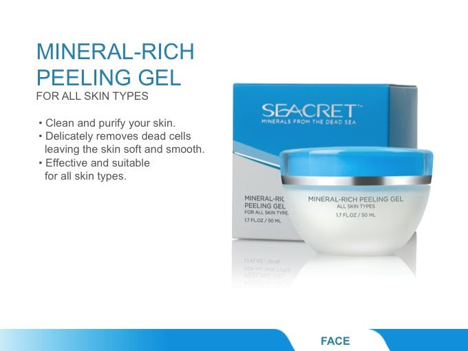 Sea Minerals Skin Care