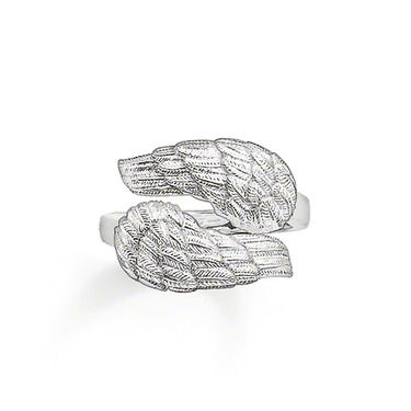 Thomas Sabo Ring Tr1948-001-12 Cheap Thomas Sabo Rings- Ring 925 Sterling silver Two overlapped wings for a sensual unity – a ring that offers two wings. Size: 1.4 cm  £28.99