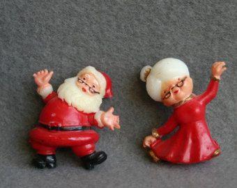 Vestido de Sra. Santa cláusula por TooTooCuteNJ en Etsy