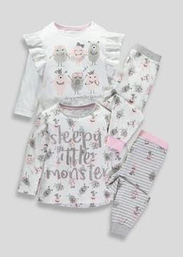 bbc46cc4 Shop Girls Nightwear - PJs, Dressing Gowns, & Slippers | Ava | Pinterest |  Pajamas