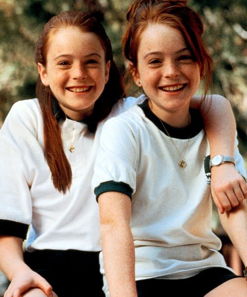 girls from parent trap naked