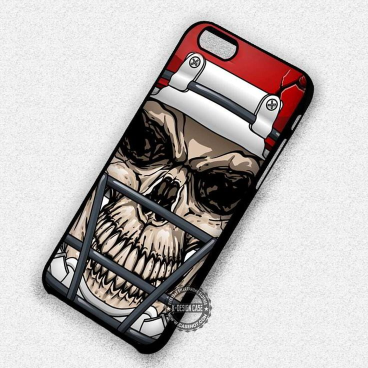 Skull with Helm American Football - iPhone 7 6s 5c 4s SE Cases & Covers #skull #helmet #americanfootball #iphonecase #phonecase #phonecover #iphone7case #iphone7 #iphone6case #iphone6 #iphone5 #iphone5case #iphone4 #iphone4case