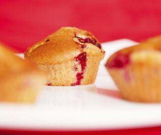 Muffins framboise et nougat