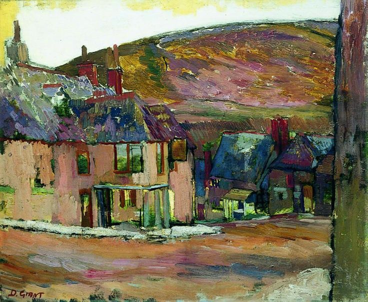 Duncan Grant, The Red House on the Hill (1911)