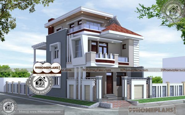 Design Floor Plans 90 Front Design Of House In Indian Triple