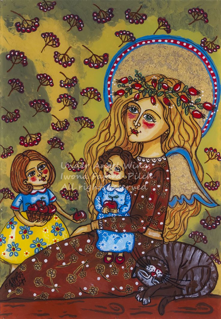 20 best the art prints christmas paintings giclee holiday for Folk art craft paint
