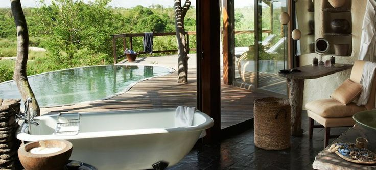 Safari in style at Singita Boulders Lodge