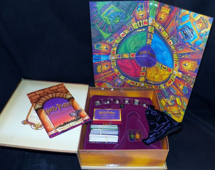 how to play harry potter board game