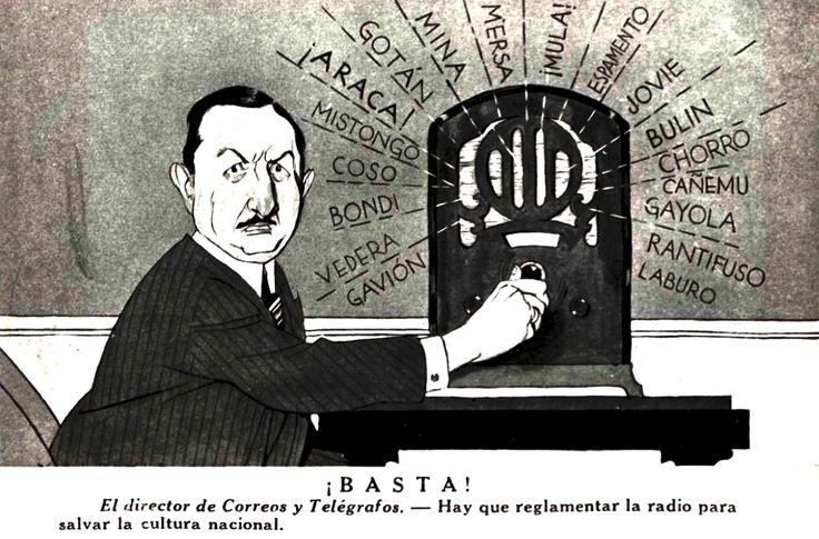 """Publicación en revista """"Caras y Caretas"""", 1934."""