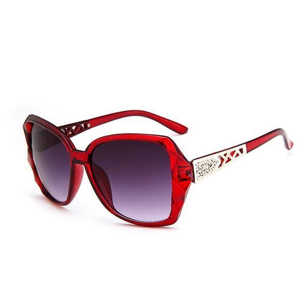 HONEY Trendy Damen Polarisierte Sonnenbrille - Full UV 400 Schutz - 4 Farben erhältlich - Vintage Circular Metal Legs ( Farbe : 2 ) JZ9H3eOuz
