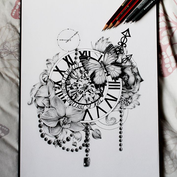 A3 or A4 print of Original art work called Time is Precious.A3 Will be printed on 220gsm Canvas paper.A4 Will be printed on photographic paper.This piece was made using graphite pencils and fine liner pens. Each print will be dated and hand signed by the artist.