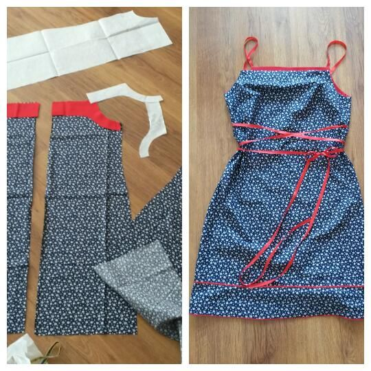 šaty z ala modrotlače