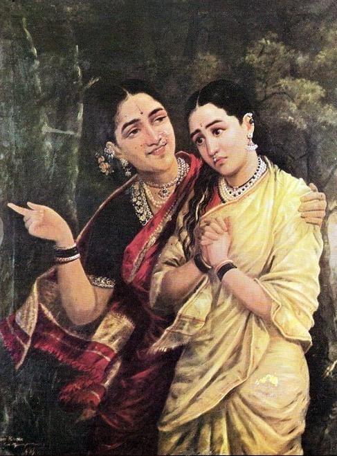 Painting Raja Ravi
