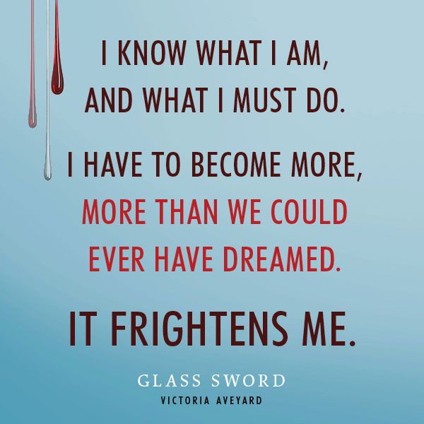 I just finished Glass Sword by Victoria Aveyard and I loved it!!