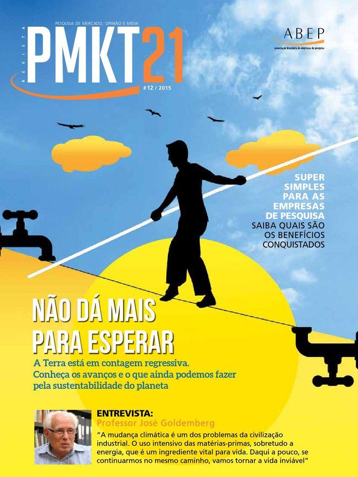 PMKT 21 Ed 12  Publicação da Associação Brasileira de Empresas de Pesquisa ABEP.
