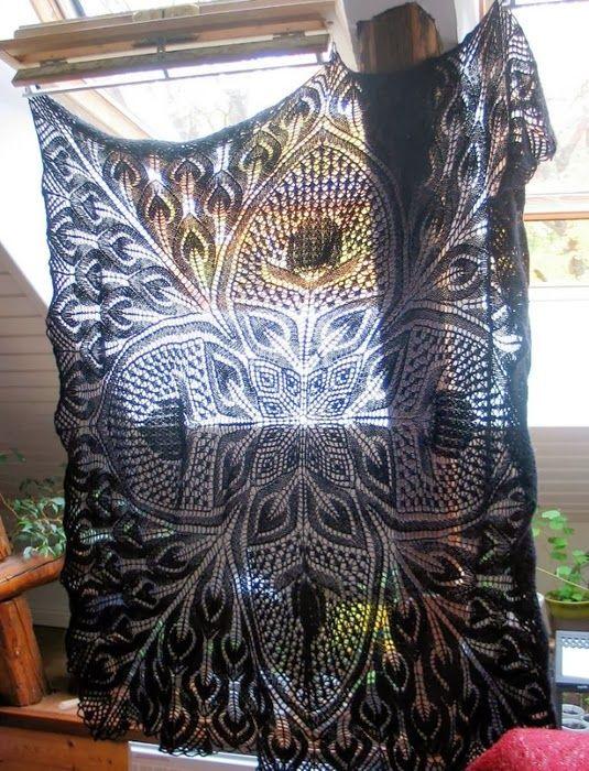Fantastic shawl