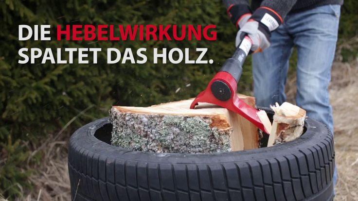 LEVERAXE - HOLZ HACKEN TECHNOLOGIE Leveraxe ist ein neues Werkzeug, das gänzlich anders funktioniert als eine gewöhnliche Axt. Brennholz hacken effizient und sicher mitt Leveraxe.