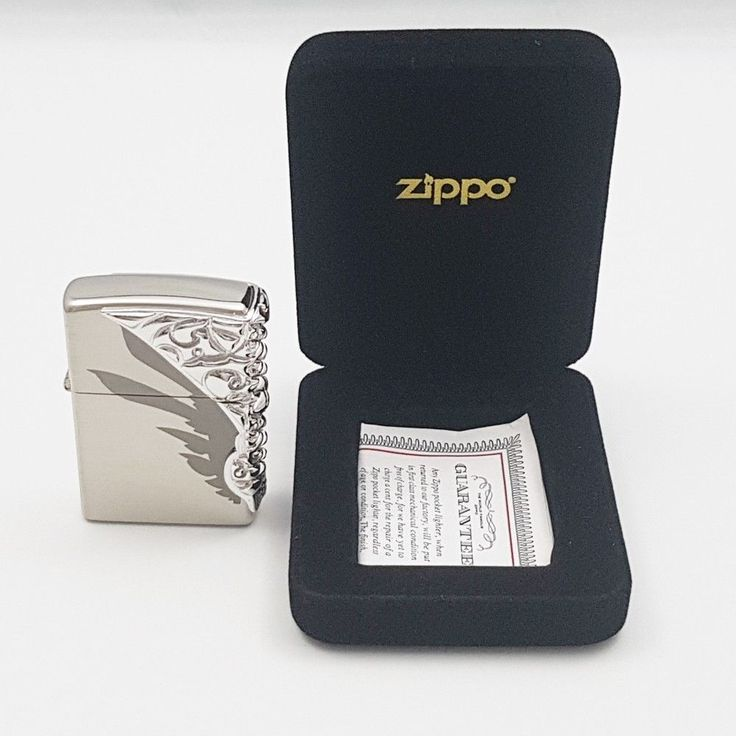 Zippo Original Lighter Shield NI Authentic Windproof Made USA Free Gift 6Flints #Zippo