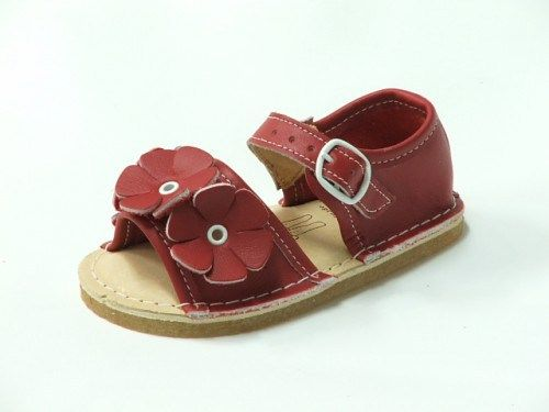 These all-leather shoes mold to a child's foot over time creating the perfect fit. No plastics — just organic materials.  $79.50 at MeandMyFeet.com